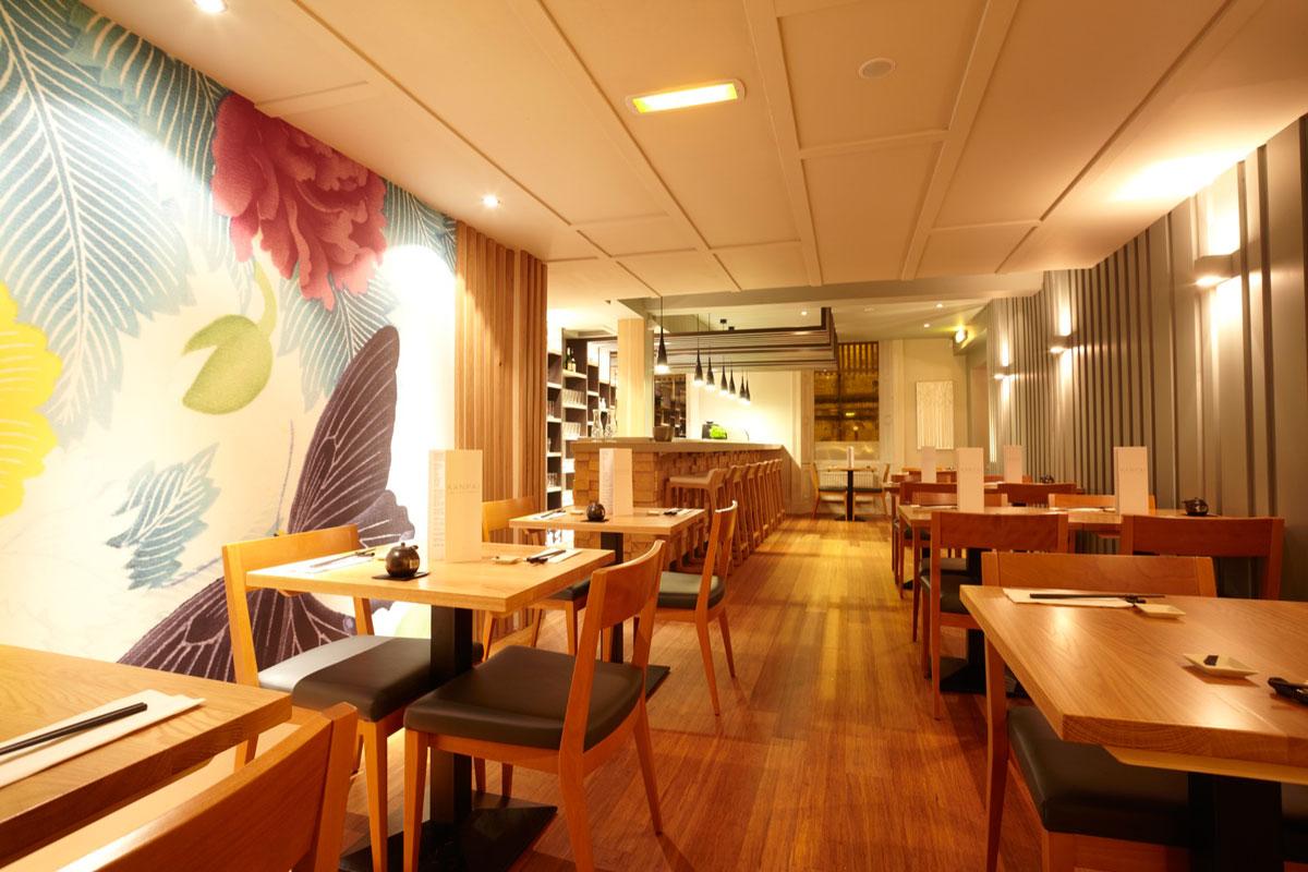 Japanese restaurant edinburgh midlothian kanpai sushi